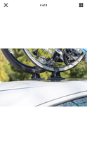 Car Roof Bicycle Suction Rack Carrier 2 bikes