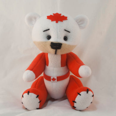 Captain Canada Super Teddy