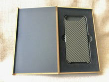 Carbon Fiber Black iPhone7 Cover