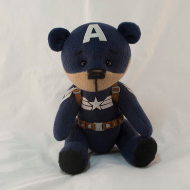 Captain America Warrior Super Teddy