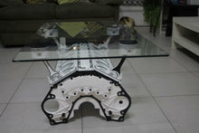 V12 Engine block coffee table