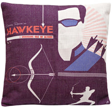 Hawk Eye AAU Print Cushion Cover