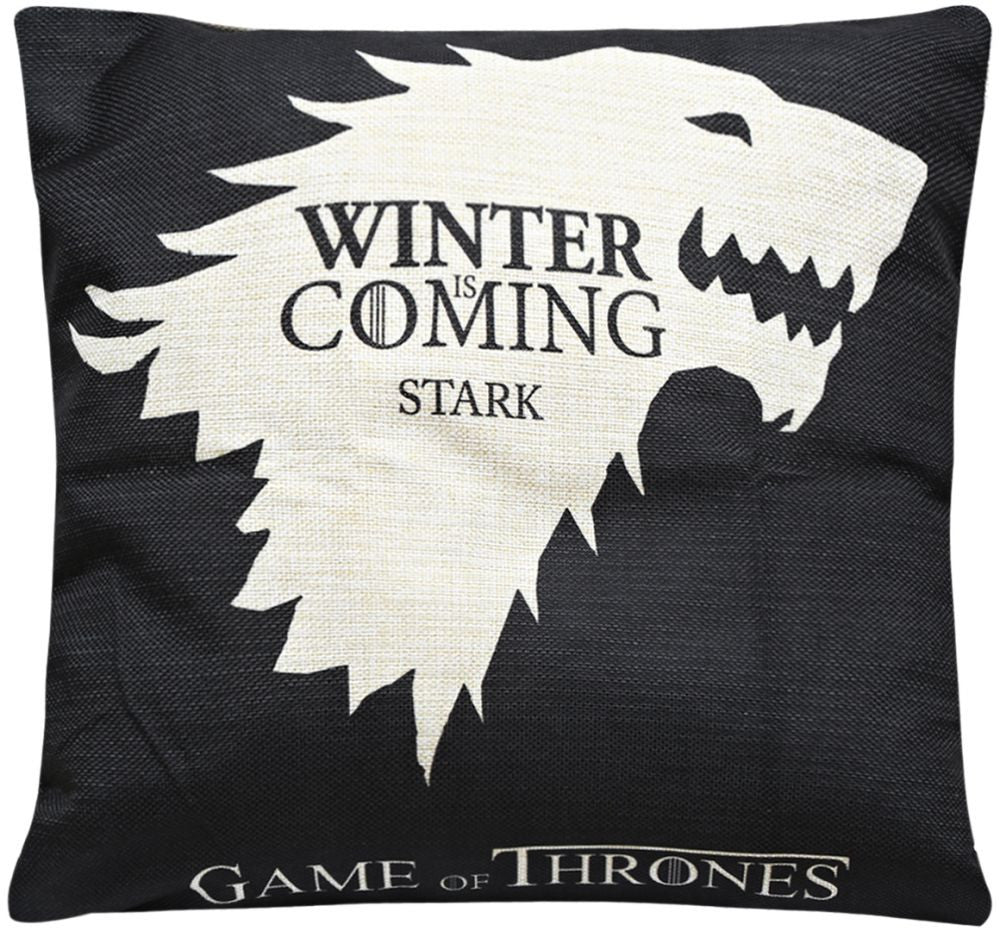 Game Of Thrones Stark Print Cushion Cover
