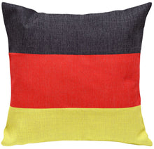 Germany Flag Print Cushion Cover