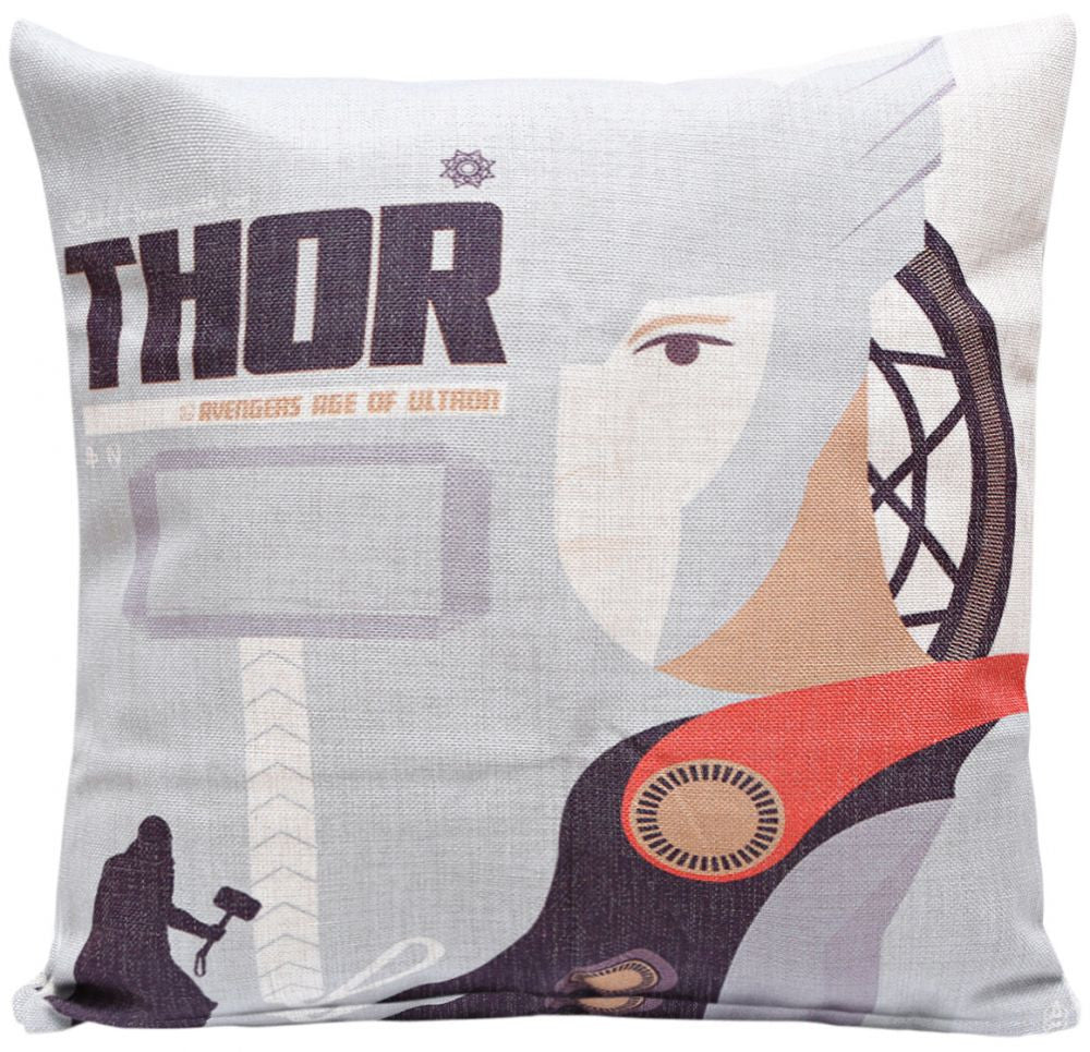 Thor AAU Print Cushion Cover