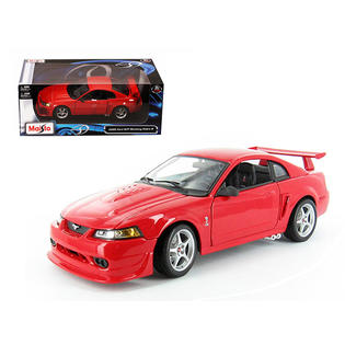 2000 Ford Mustang Cobra R SVT Red 1/18 Diecast Model Car by Maisto