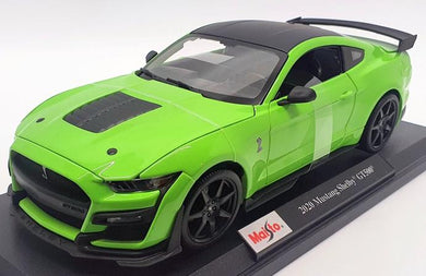2020 Mustang Shelby GT500 - Green 1/18 Scale Model Car Maisto