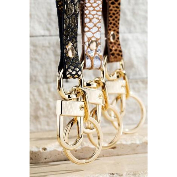 Animal Print Keychain - Accessories