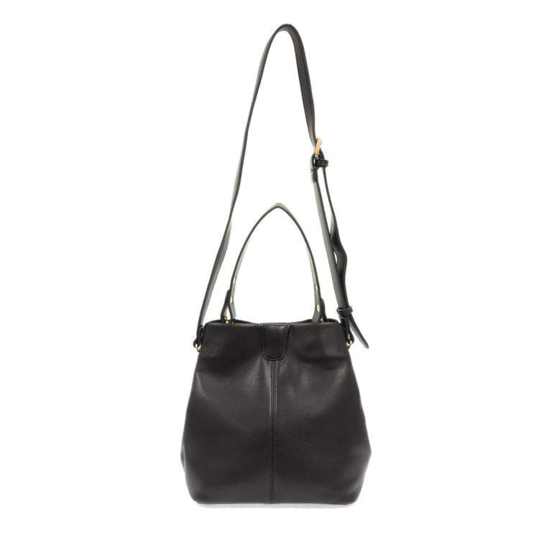 Ava Convertible Shoulder Bag - Black - Accessories