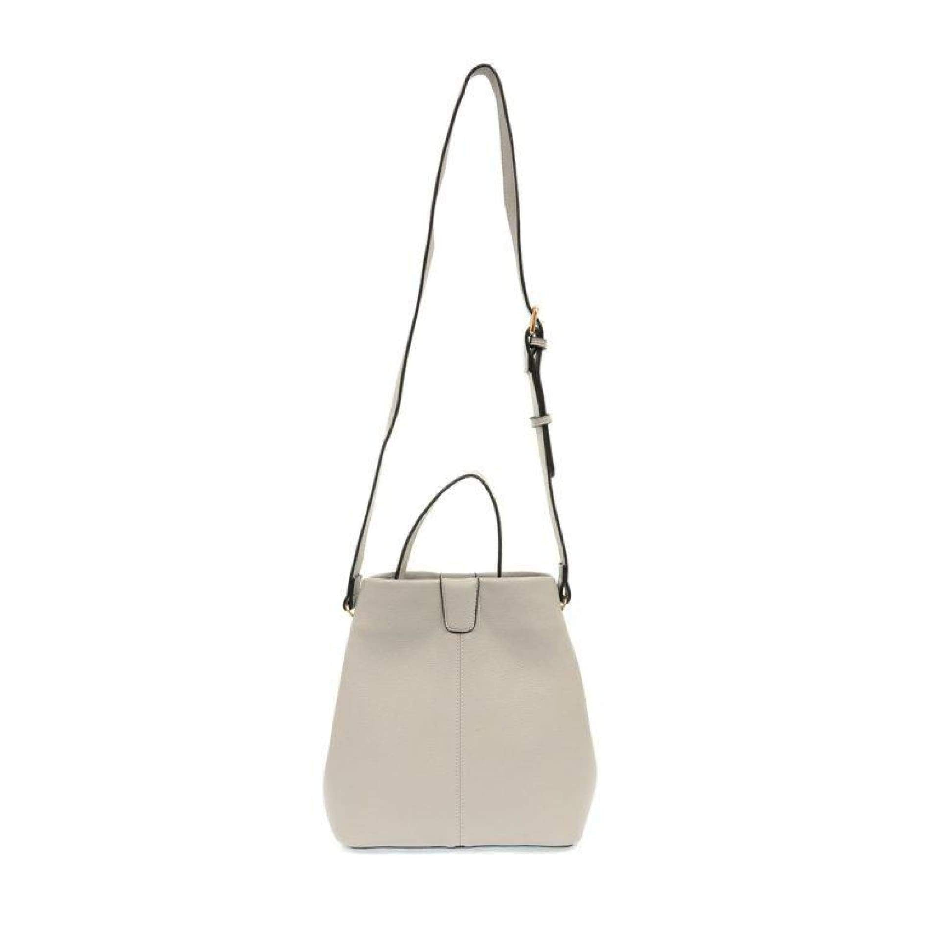 Ava Convertible Shoulder Bag - Grey - Accessories