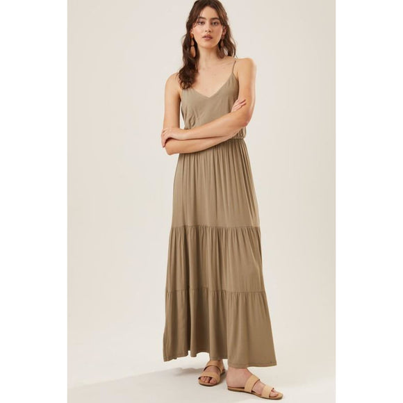 Away on Vacay Maxi - Dress