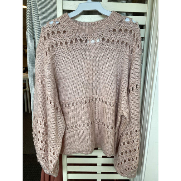 Bubble Gum Sweater - Sweater