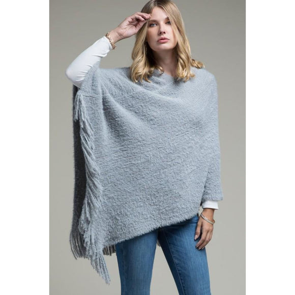 Cuddling Close Poncho - Sweater