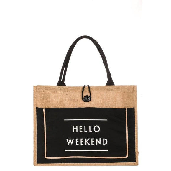 Hello Weekend Bag - Accessories