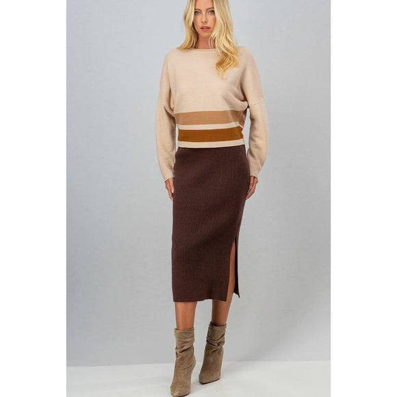 Hot Chocolate Skirt - Bottoms