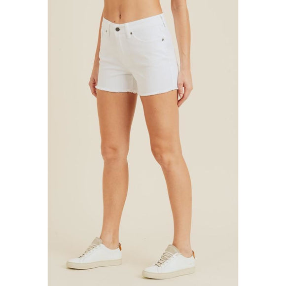 Juliette Denim Shorts - Bottoms