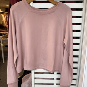 Keep Me Warm Top - Small / Misty Rose - Top