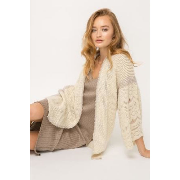 Natural Beauty Cardigan - Sweater