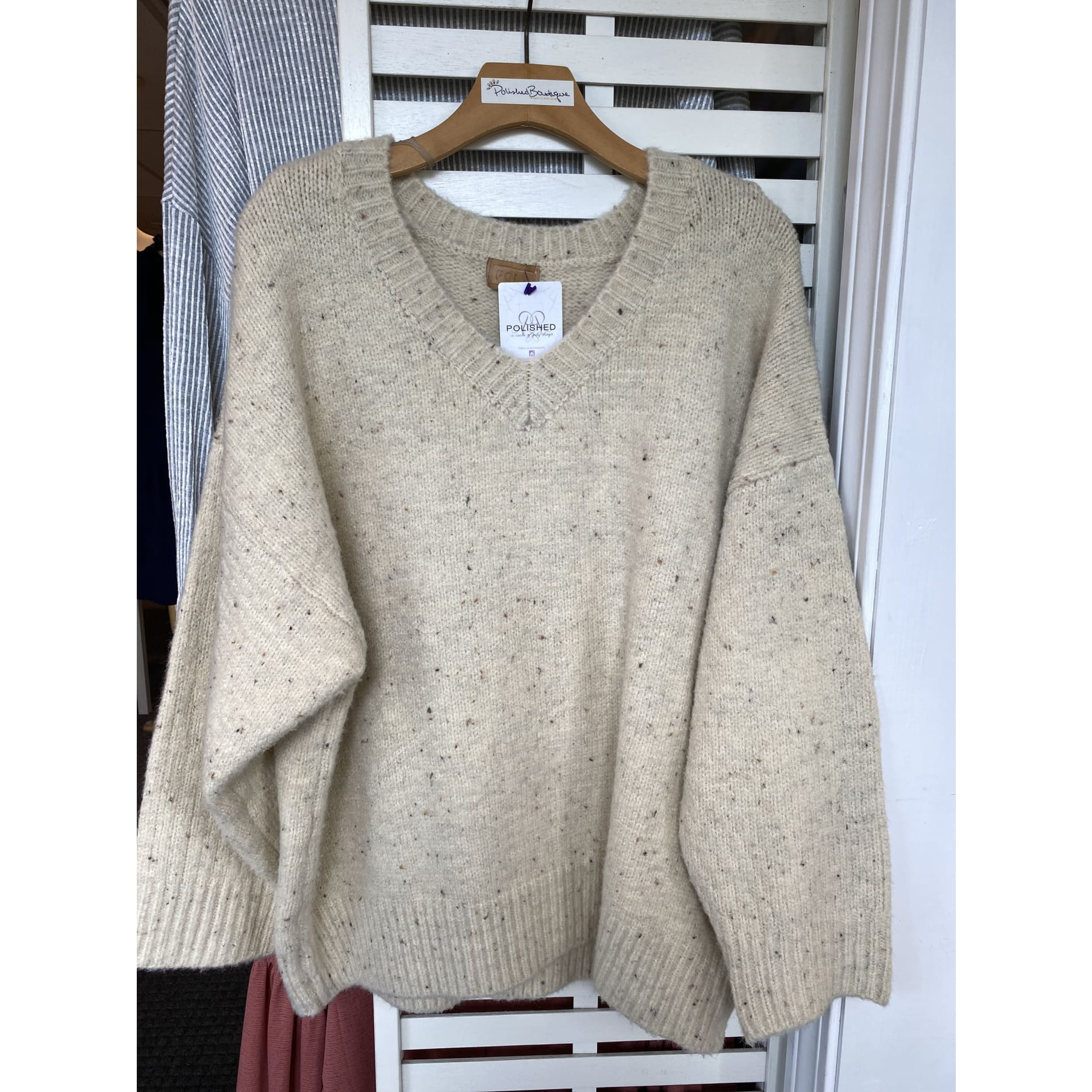 Oats and Honey Sweater - Sweater