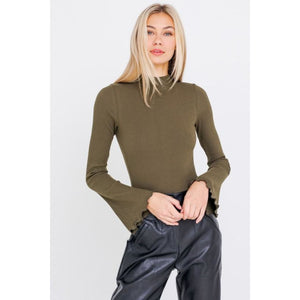 Olive You Bodysuit - Top