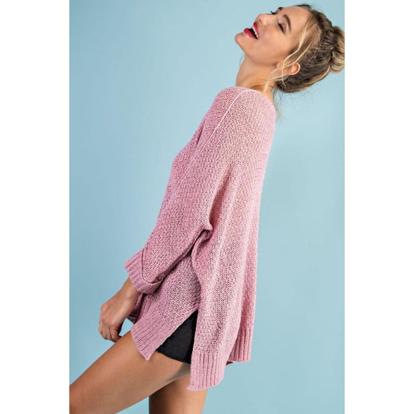 Pinkalicious Knit Sweater - Top