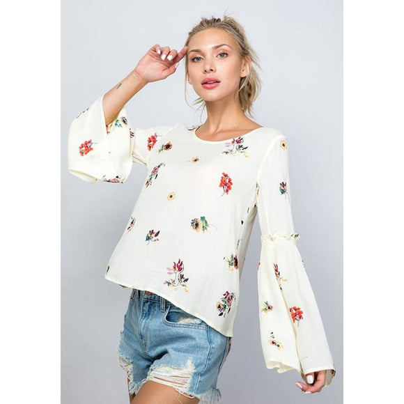 Ready to Bloom Top - Top
