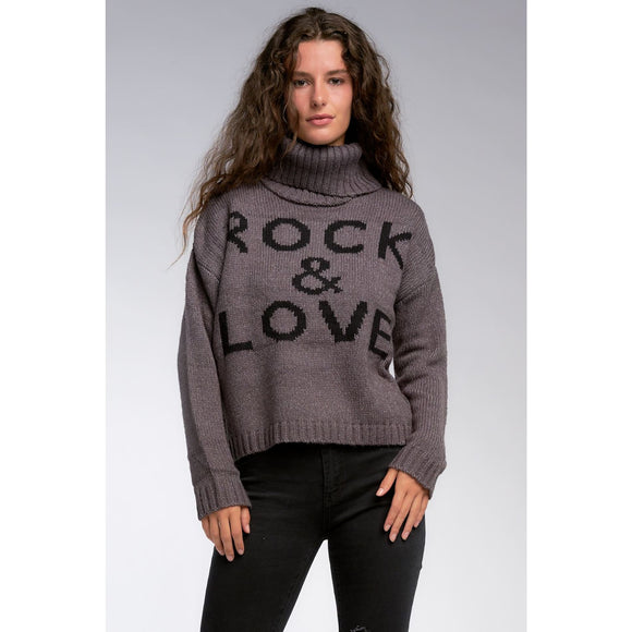 Rock & Love Sweater - Sweaters