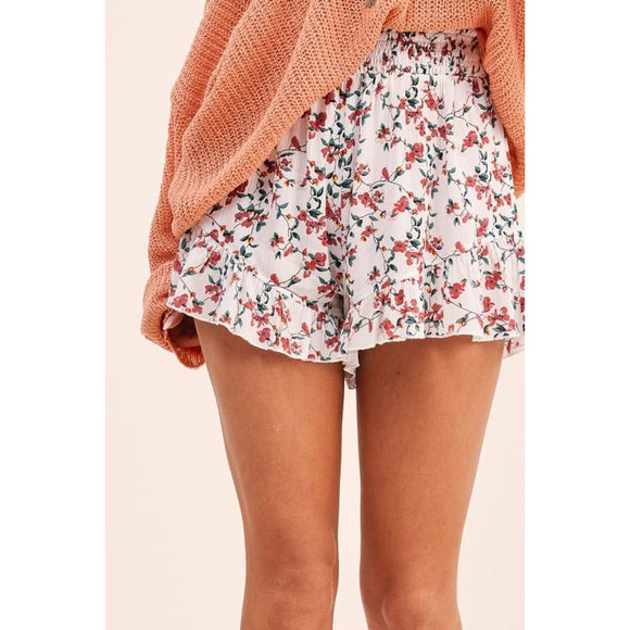 Rose Bud Shorts - Bottoms