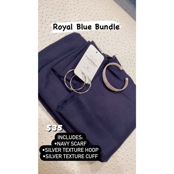 Royal Blue Bundle - Accessories