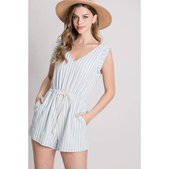 Seaside Tide Romper - Romper
