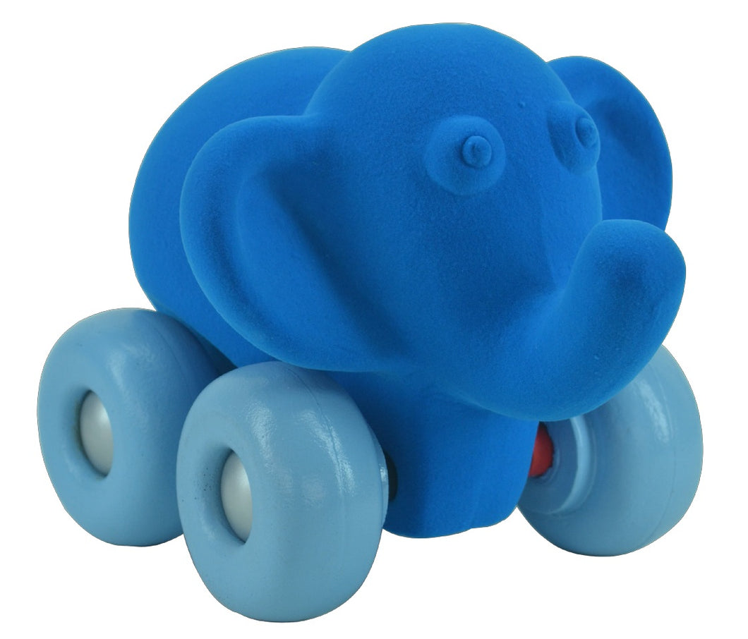 Blue Elephant on Wheels (7