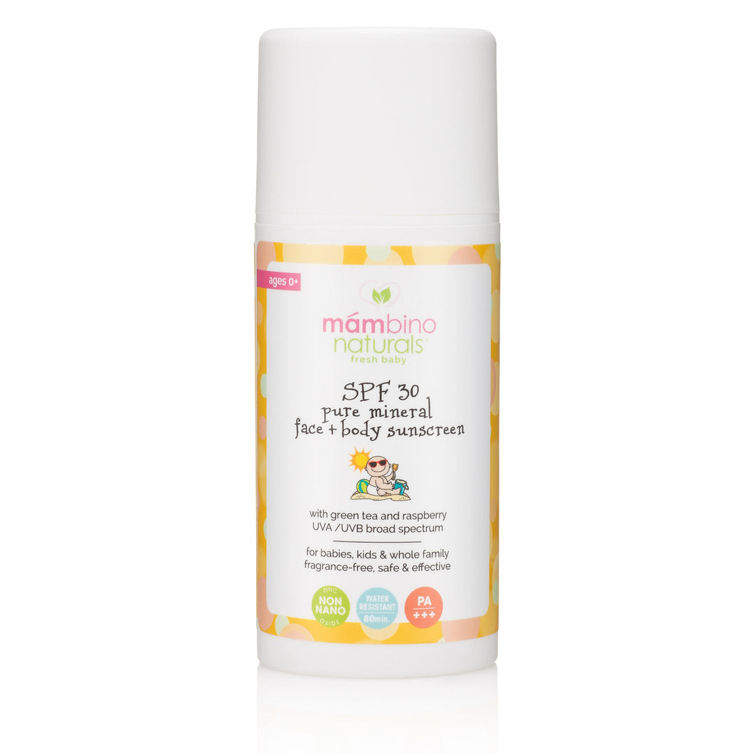 Pure Mineral Face & Body Sunscreen (SPF 30) (3.5 fl oz)