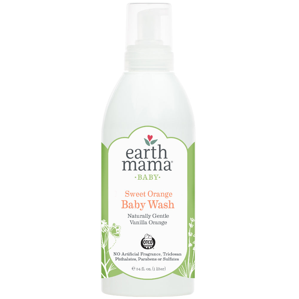 Sweet Orange Baby Wash (1 liter)