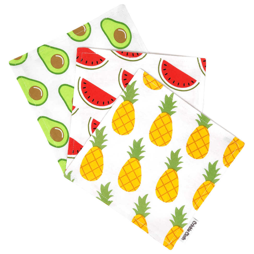 3-Pack Tropical Fruit Patterns (6