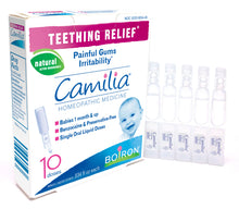 Load image into Gallery viewer, Teething Relief Homeopathic Medicine - 10 Doses (10 x 0.34 fl oz)