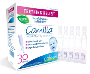Teething Relief Homeopathic Medicine - 30 Doses (30 x 0.34 fl oz)