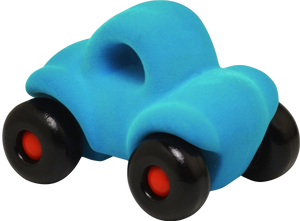 "Turquoise Car on Wheels (~4.5"")"