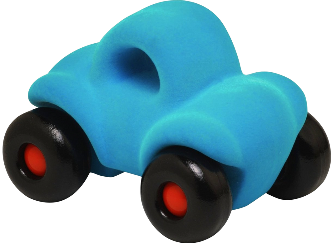 Turquoise Car on Wheels (~4.5
