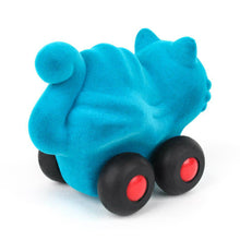 "Load image into Gallery viewer, Aniwheelies Turquoise Cat (4"")"