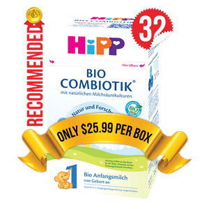 32 Boxes of HiPP Germany Stage 1 (600g)