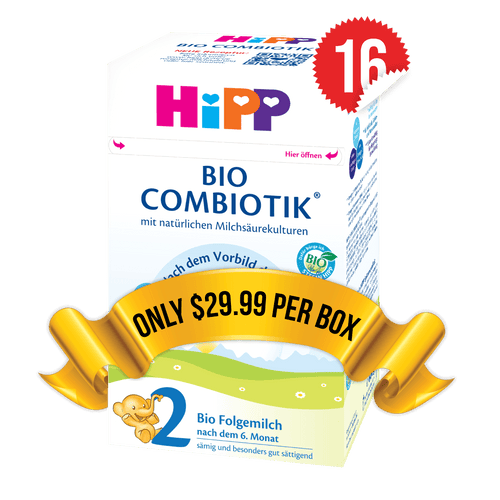 16 Boxes of HiPP Germany Stage 2 (600g)