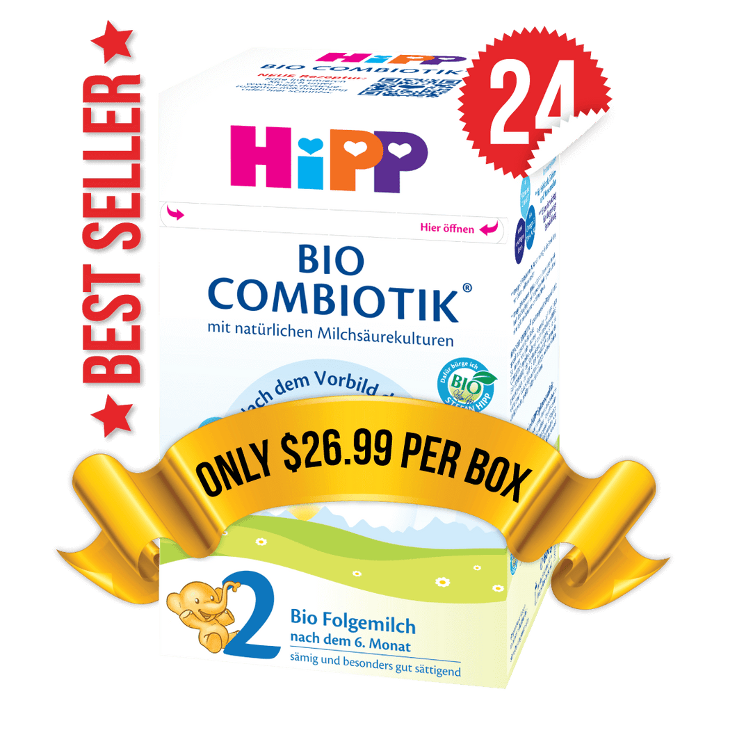 24 Boxes of HiPP Germany Stage 2 (600g)