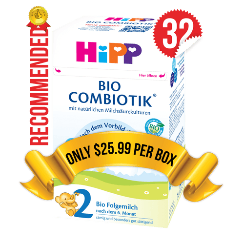 32 Boxes of HiPP Germany Stage 2 (600g)