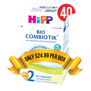 40 Boxes of HiPP Germany Stage 2 (600g)