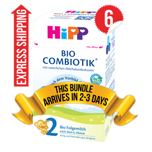 6 Boxes of HiPP Germany Stage 2 (600g)