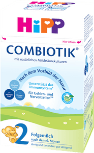 Stage 2 Organic (Bio) Combiotic Follow-on Infant Milk Formula (600g) - German Version