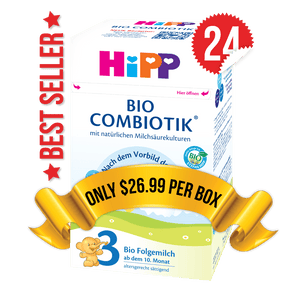 24 Boxes of HiPP Germany Stage 3 (600g)