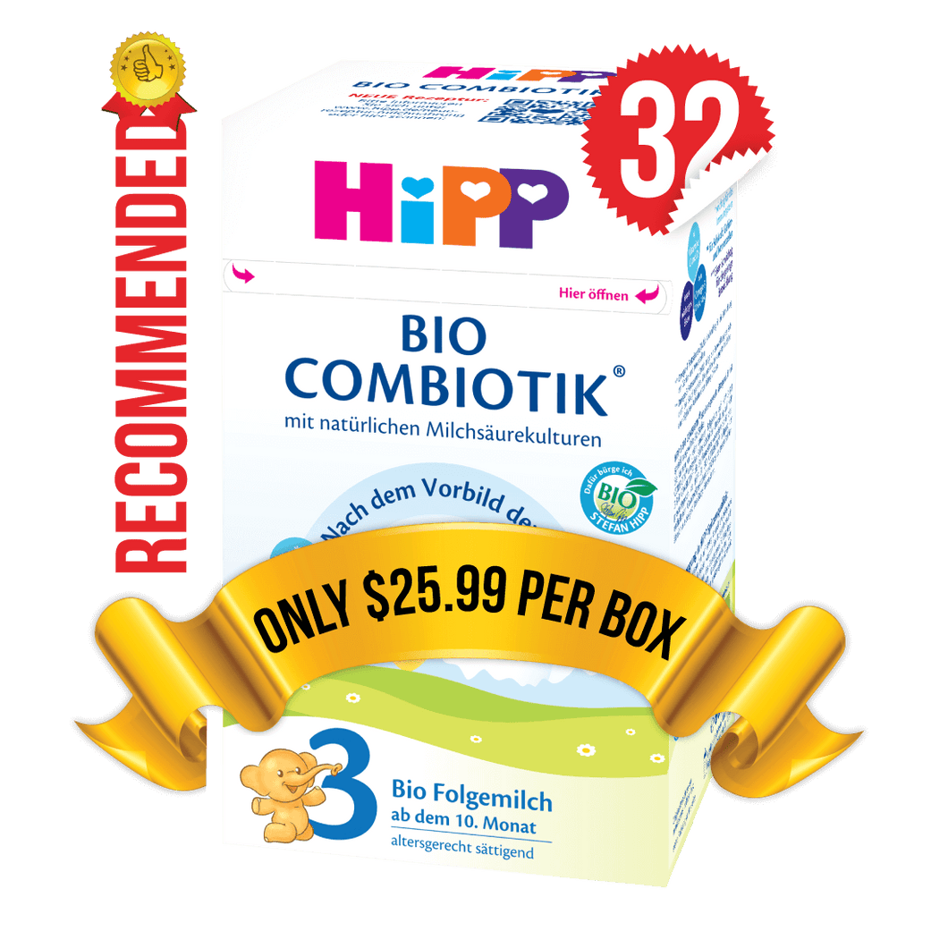 32 Boxes of HiPP Germany Stage 3 (600g)