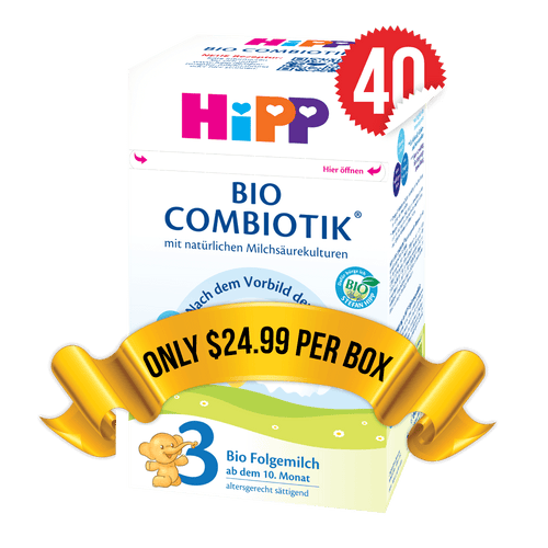 40 Boxes of HiPP Germany Stage 3 (600g)