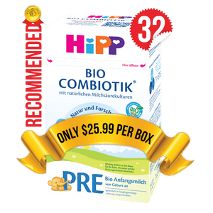32 Boxes of HiPP Germany Stage PRE (600g)